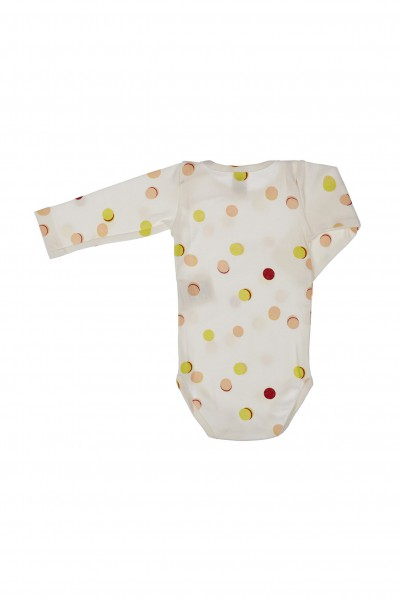 LONG SLEEVE BODY MACARONS RIB PRINT – image 3