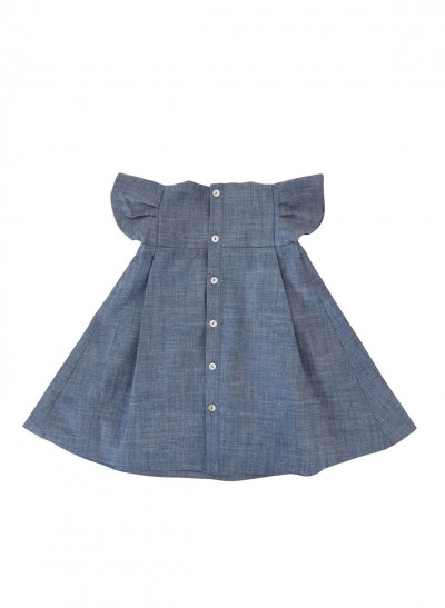 WINGS DRESS DENIM – image 2