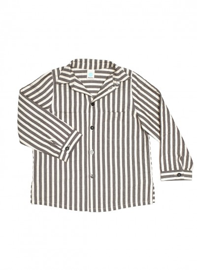 LONG SLEEVE SHIRT SEERSUCKER – image 2