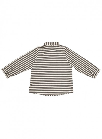 LONG SLEEVE SHIRT SEERSUCKER – image 3