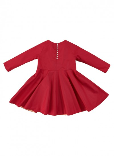 FESTIVE DRESS SILKY COTTON BABY – image 3