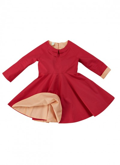 FESTIVE DRESS SILKY COTTON BABY – image 2