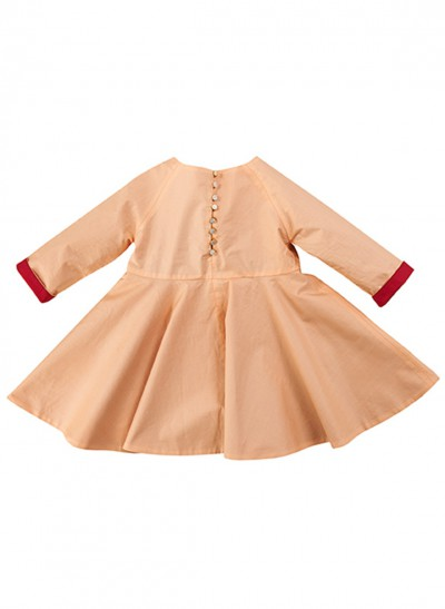 FESTIVE DRESS SILKY COTTON BABY – image 7