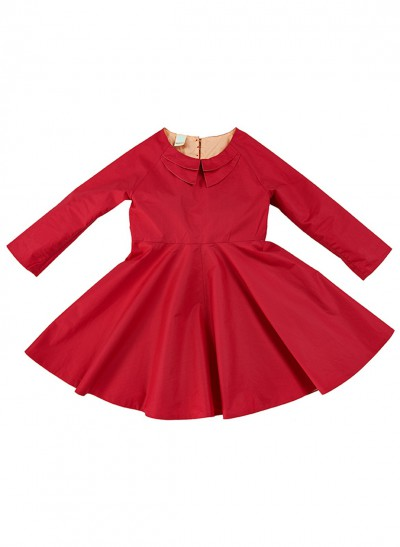 FESTIVE DRESS SILKY COTTON BABY – image 1