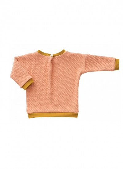 MACARONS CLASSICS WOOL PULLOVER WAFFLE – image 4